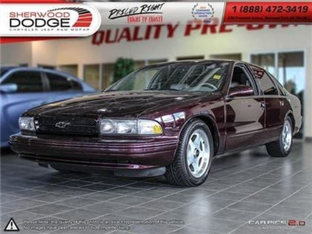 1996 Chevrolet Caprice CLASSIC   LEATHER SEATS   V-8 in Sherwood Park, Alberta