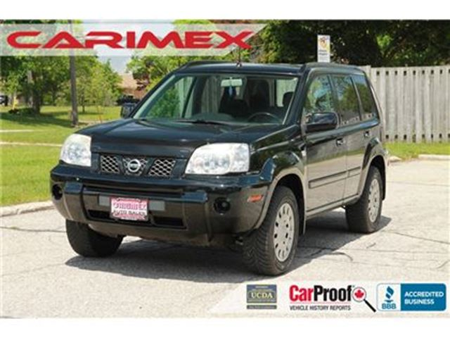 2006 Nissan X-Trail XE   4x4   ONLY 103K   CERTIFIED in Kitchener, Ontario