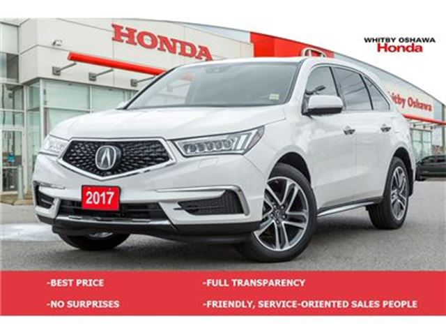 2017 ACURA MDX Navigation Package in Whitby, Ontario