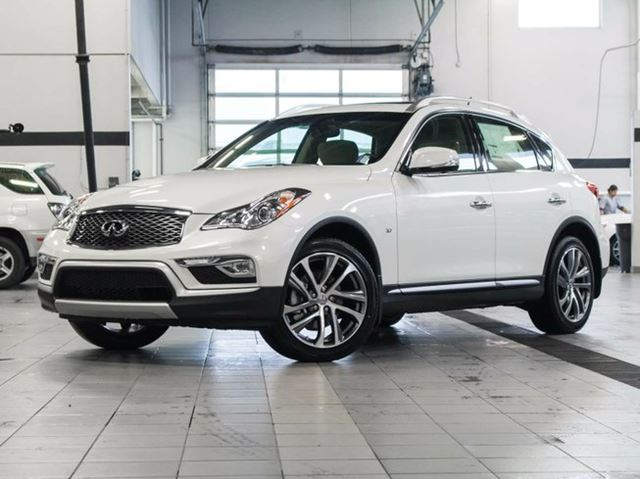 2017 INFINITI QX50 All-wheel Drive with Premium, Navigation and Technology Package in Kelowna, British Columbia