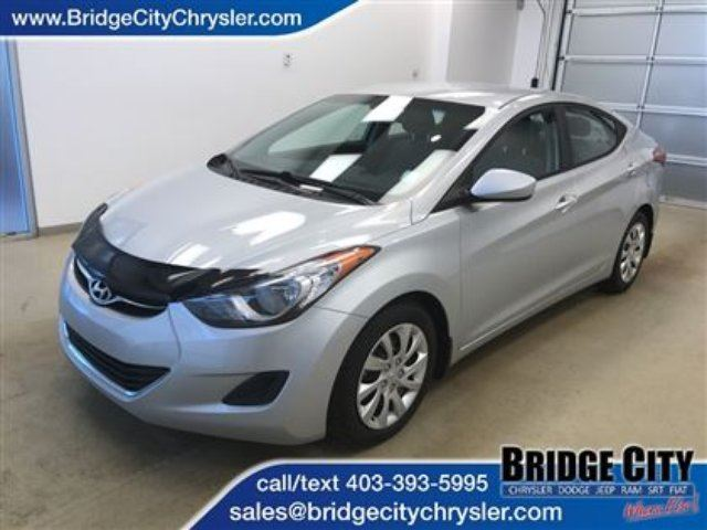 2013 HYUNDAI ELANTRA Nicely Equipped in Lethbridge, Alberta