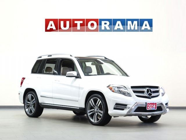 2014 Mercedes-Benz GLK250 NAVIGATION LEATHER PAN SUNROOF 4WD in North York, Ontario