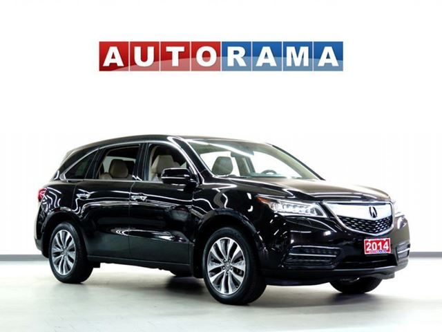 2014 Acura MDX TECH PKG NAVI LEATHER SUNROOF 7 PASS BACKUP CAM in North York, Ontario