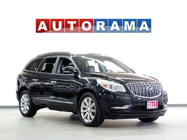 2013 Buick Enclave NAVIGATION LEATHER PAN SUNROOF 4WD BACKUP CAM in North York, Ontario