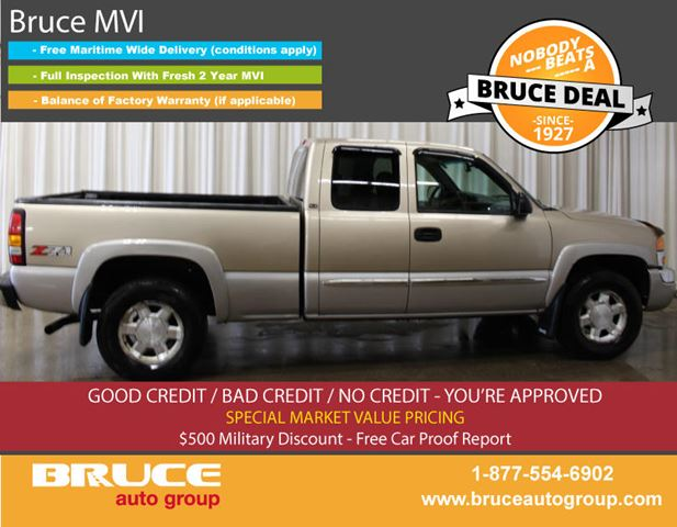 2004 GMC Sierra 1500 Z71 SLT 5.3L 8 CYL AUTOMATIC 4X4 EXTENDED CAB in Middleton, Nova Scotia