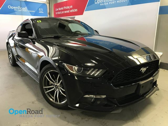 2016 Ford Mustang EcoBoost  A/T No Accident Local Super Low KMs L in Port Moody, British Columbia