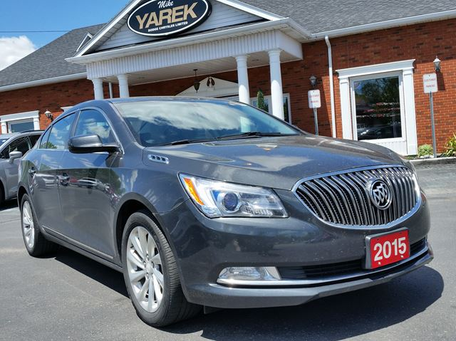 2015 BUICK LACROSSE Base, Bluetooth, Back Up Cam, Remote Start, V6 in Paris, Ontario