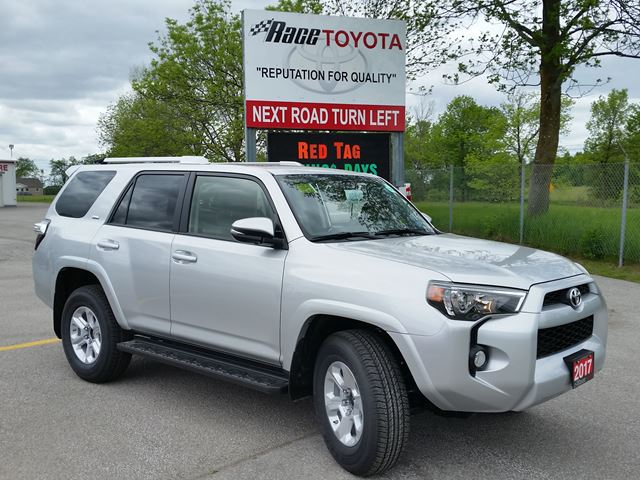 2017 toyota 4runner sr5 lindsay ontario car for sale 2793142. Black Bedroom Furniture Sets. Home Design Ideas
