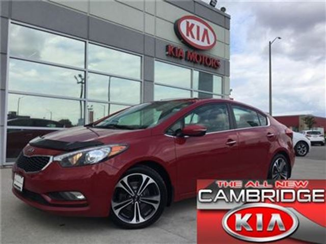2014 Kia Forte SX NAV KIA CERTIFIED PRE-OWNED in Cambridge, Ontario
