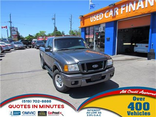 2004 Ford Ranger XLT 3.0L   SUPER CAB   CLEAN   FRESH TRADE in London, Ontario