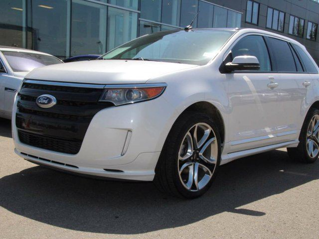 used 2013 ford edge sport local alberta trade in. Black Bedroom Furniture Sets. Home Design Ideas