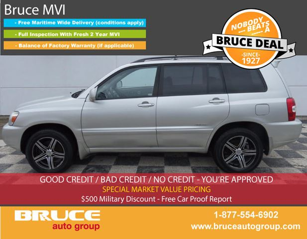 2006 TOYOTA HIGHLANDER HYBRID LIMITED 3.3L 6 CYL CVT AWD in Middleton, Nova Scotia