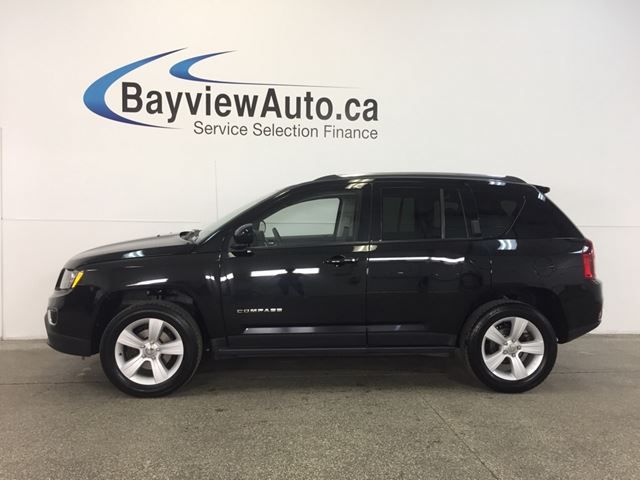 2016 JEEP COMPASS HIGH ALTITUDE- 4x4! SUNROOF! LEATHER! UCONNECT! in Belleville, Ontario