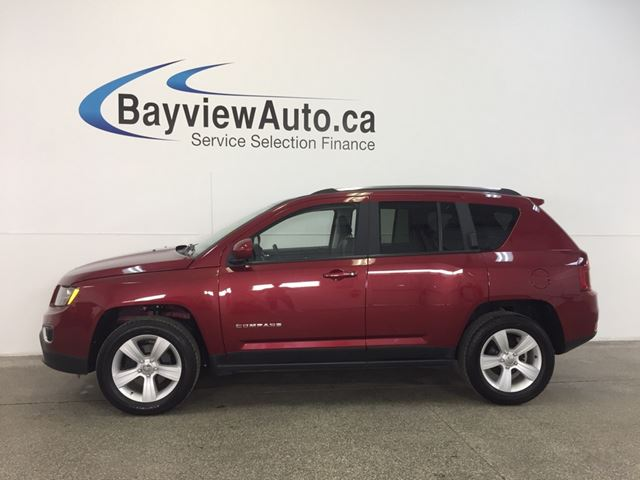 2016 JEEP COMPASS HIGH ALTITUDE- 4x4! ALLOYS! ROOF! HEATED LEATHER!  in Belleville, Ontario