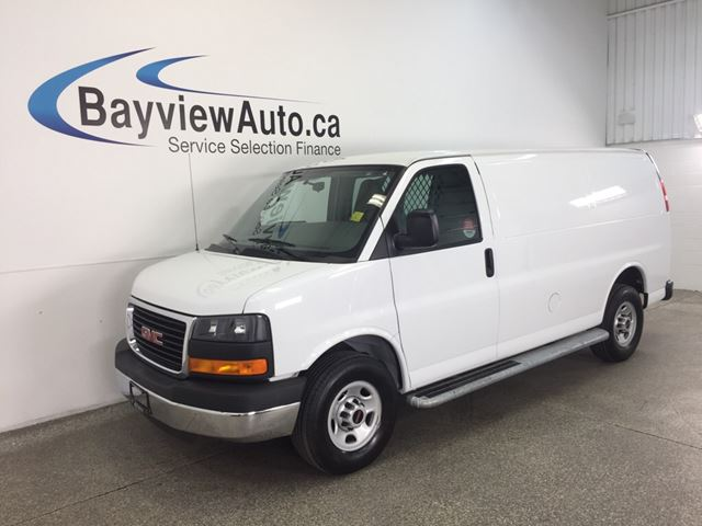 2015 GMC SAVANA G2500- 4.8L! A/C! STABILITRAK! CRUISE! LOW KM'S! in Belleville, Ontario