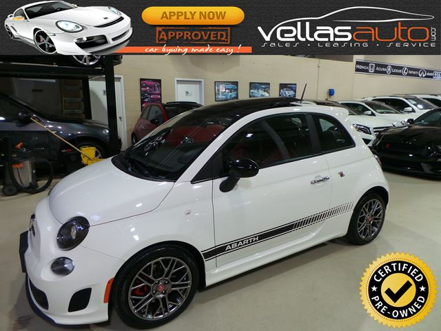 2015 Fiat 500 Abarth ABARTH| AUTO| PANO RF| LEATHER in Vaughan, Ontario