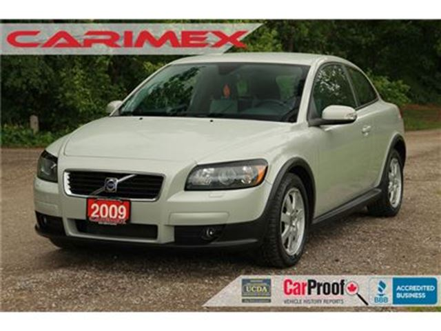 2009 Volvo C30 2.4i ONLY 79K   CERTIFIED in Kitchener, Ontario