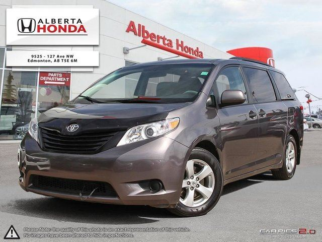 2014 TOYOTA Sienna L | Accident Free | Clean Carproof | Low Kilometers | Priced to Sell in Edmonton, Alberta
