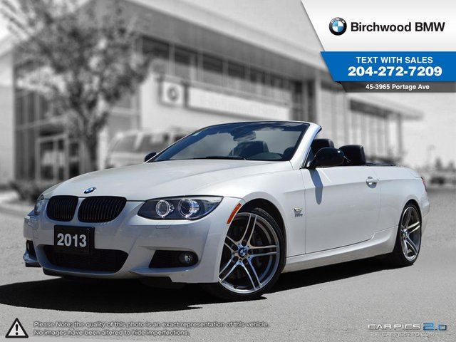 2013 BMW 3 Series 335is Connected Technology, Sound Packages! in Winnipeg, Manitoba