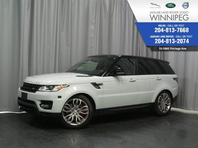 2015 LAND ROVER RANGE ROVER Sport V8 SC Dynamic *LOCAL ONE OWNER* in Winnipeg, Manitoba