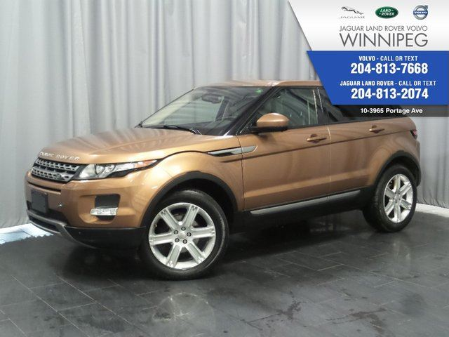 2015 LAND ROVER RANGE ROVER EVOQUE Pure City *CERTIFIED PRE-OWNED* in Winnipeg, Manitoba