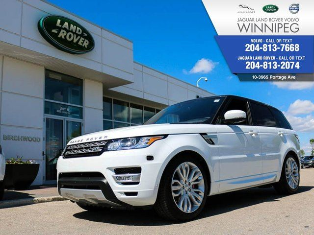 2016 LAND ROVER RANGE ROVER Sport V8 SuperCharged *AMAZING OFFER* in Winnipeg, Manitoba