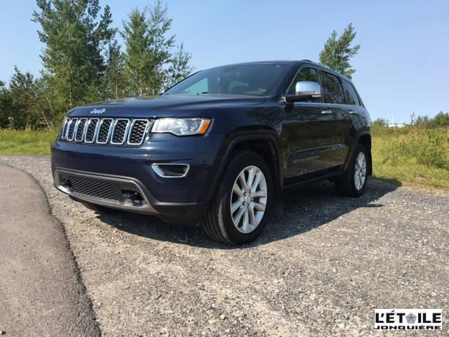 used 2017 jeep grand cherokee limited jonquiere. Black Bedroom Furniture Sets. Home Design Ideas