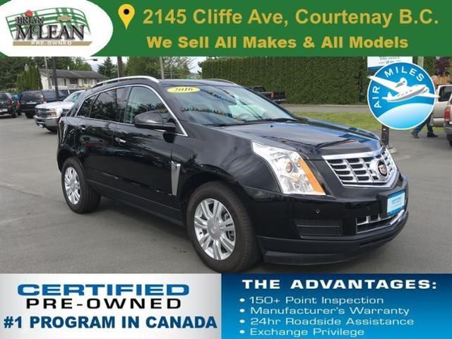 2016 CADILLAC SRX Luxury in Courtenay, British Columbia