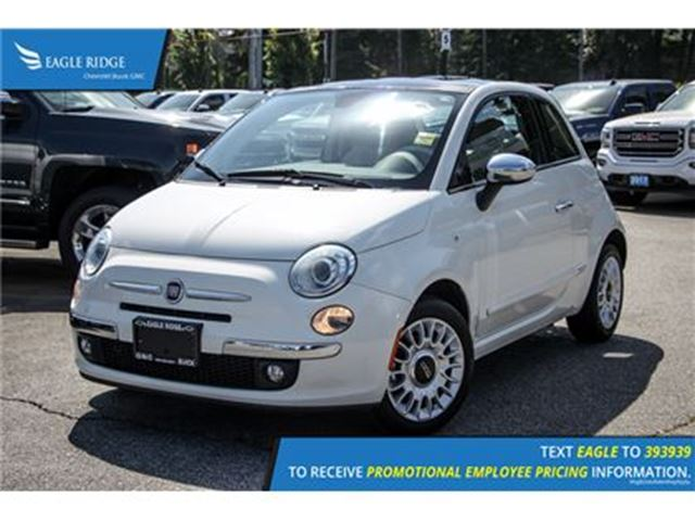 2012 FIAT 500 Lounge in Coquitlam, British Columbia