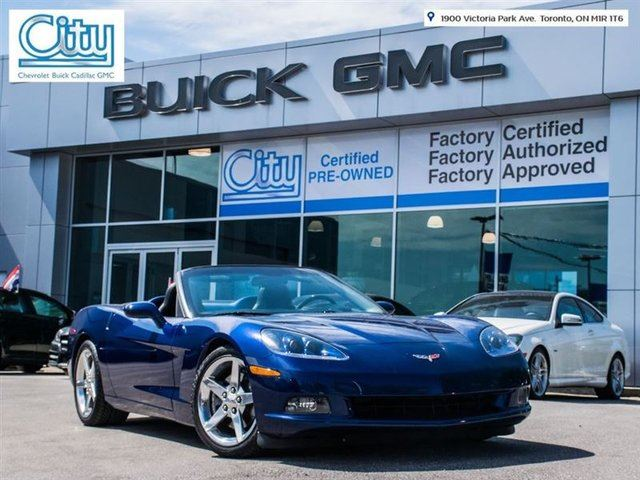 2005 Chevrolet Corvette CONVERTIBLE/POLISHED WHEELS/HEADS UP DISPLAY/AUTO in Toronto, Ontario