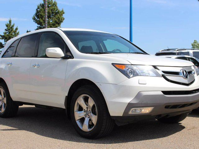 2009 ACURA MDX SUNROOF, BACKUP CAM, HEATED FRONT/REAR SEATS, XM in Edmonton, Alberta