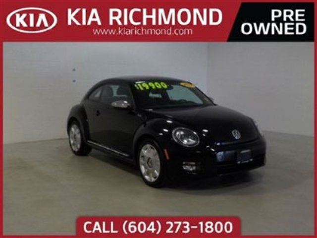 2013 VOLKSWAGEN NEW BEETLE  Fender Edition in Richmond, British Columbia