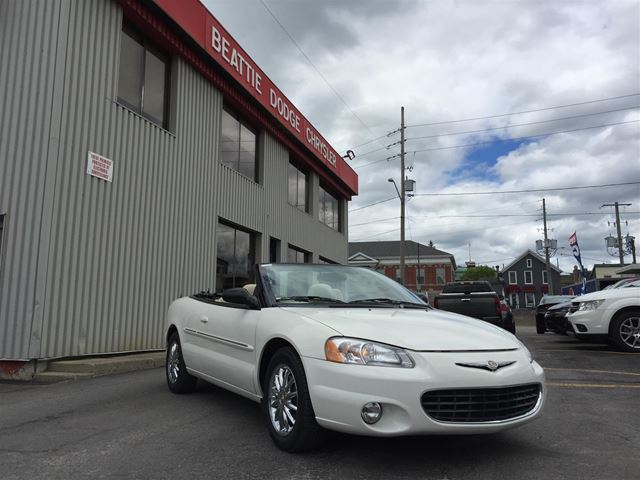 2002 Chrysler Sebring Limited in Brockville, Ontario