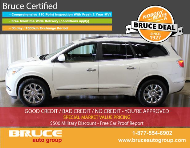 2013 BUICK ENCLAVE Premium 3.6L 6 CYL AUTOMATIC AWD in Middleton, Nova Scotia