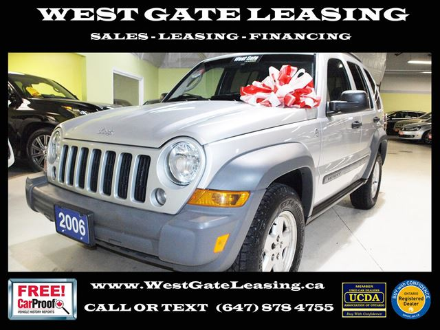 2006 Jeep Liberty SPORT 4WD  CERTIFIED   in Vaughan, Ontario