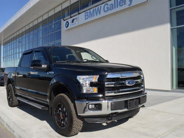 2016 FORD F-150 4x4 - Supercrew Lariat - 145 WB in Calgary, Alberta
