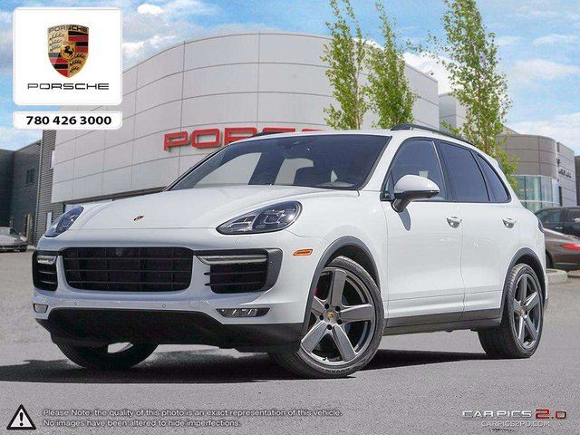 2016 PORSCHE CAYENNE Cayenne Turbo Trade in - 2 Sets of Wheels and Tires - Full Vehicle 3M - PDCC - Sport Exhaust in Edmonton, Alberta