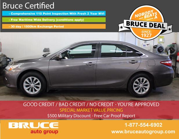 2016 TOYOTA CAMRY LE 2.5L 4 CYL AUTOMATIC FWD 4D SEDAN in Middleton, Nova Scotia