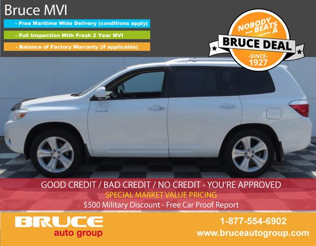 2010 TOYOTA HIGHLANDER LIMITED 3.5L 6 CYL AUTOMATIC AWD in Middleton, Nova Scotia
