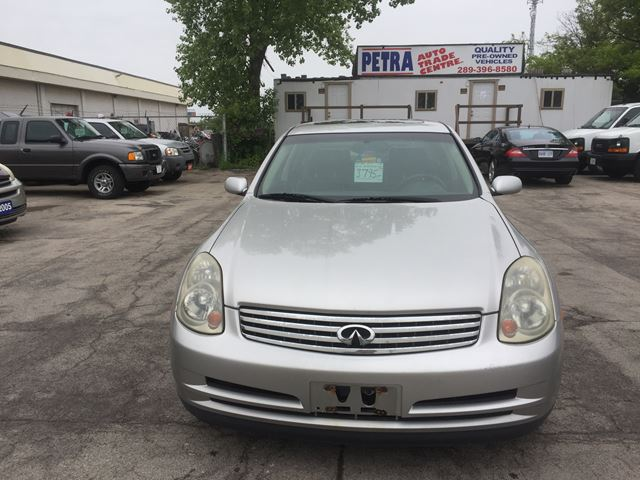2004 Infiniti G35 Luxury in Hamilton, Ontario