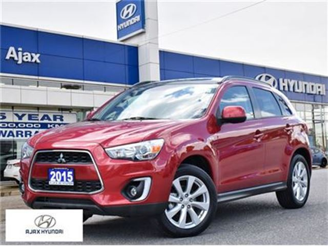 2015 MITSUBISHI RVR GT Navigation Leather panoramic roof in Ajax, Ontario