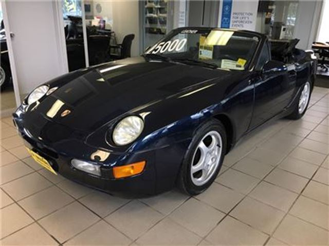 1992 PORSCHE 968 Automatic, Alloy's, Convertible in Burlington, Ontario