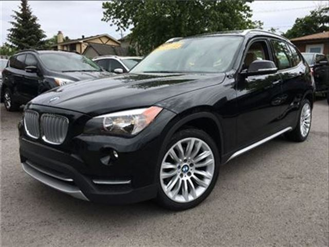 2013 BMW X1 xDrive28i Premium Package/ Panoramic Roof/ AWD in St Catharines, Ontario