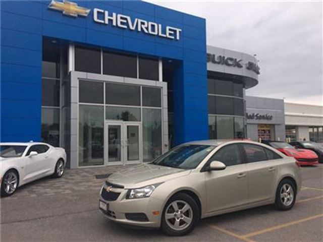 2013 Chevrolet Cruze LT Turbo LEATER HEATED SEATS ALLOYS!!! in Orillia, Ontario
