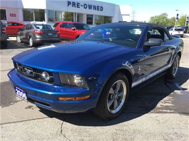 2006 Ford Mustang V6 Convertible***TOO LATE-SOLD*** in Burlington, Ontario