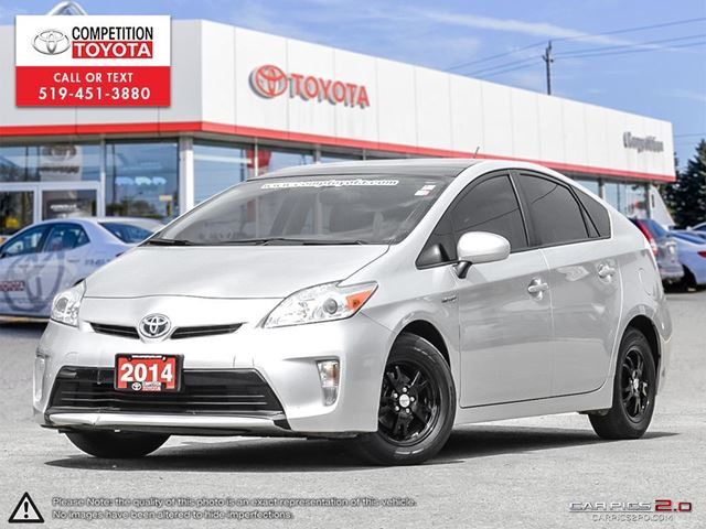 2014 Toyota Prius Base One Owner, No Accidents, Toyota Serviced in London, Ontario