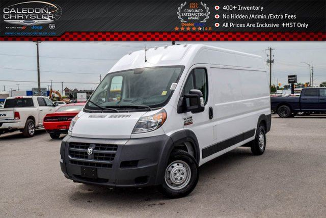 2017 RAM PROMASTER Uconnect Park Assist Cargo partition in Bolton, Ontario