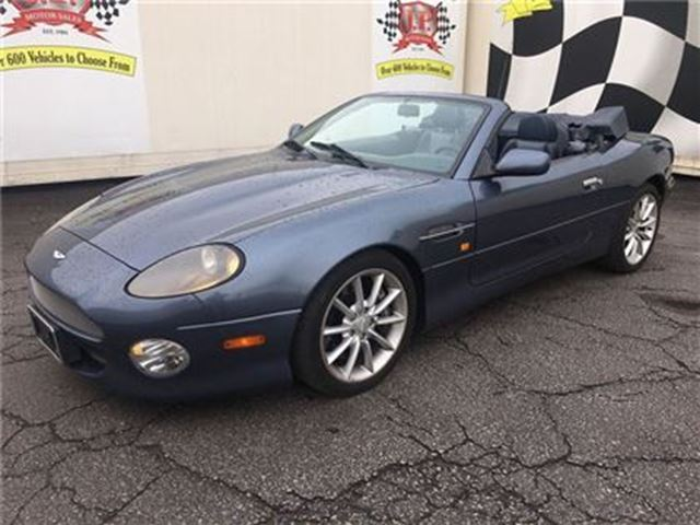 2003 Aston Martin DB7 Volante, Automatic, Power Top, Leather Seats in Burlington, Ontario