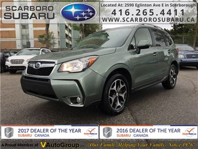 2014 SUBARU FORESTER 2.0XT LTD Package w/Eyesight & Multimedia Option in Scarborough, Ontario
