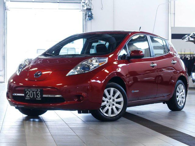 2013 Nissan Leaf S Electric w/Quick Charge Package in Kelowna, British Columbia